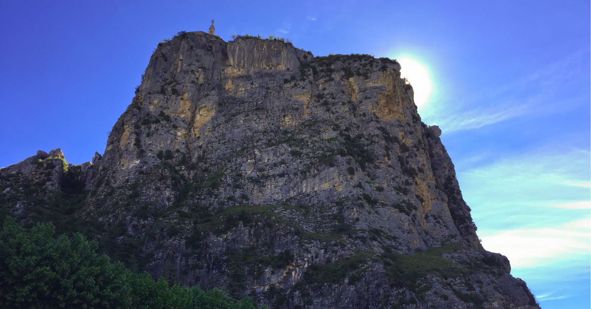 castellane kirke toppen provence