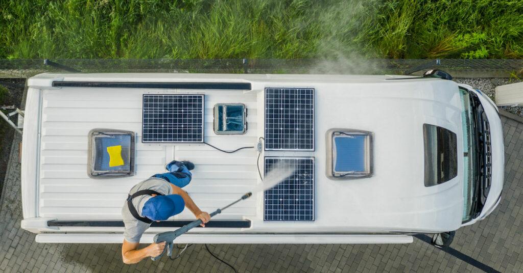 uafhængig af landstrøm solceller
