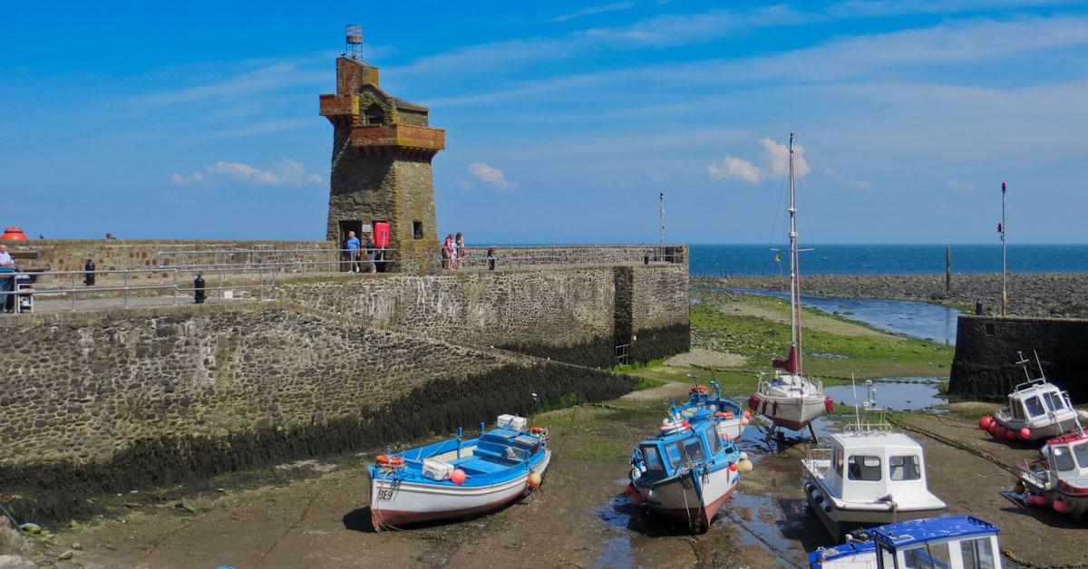 england i autocamper lynmouth havn