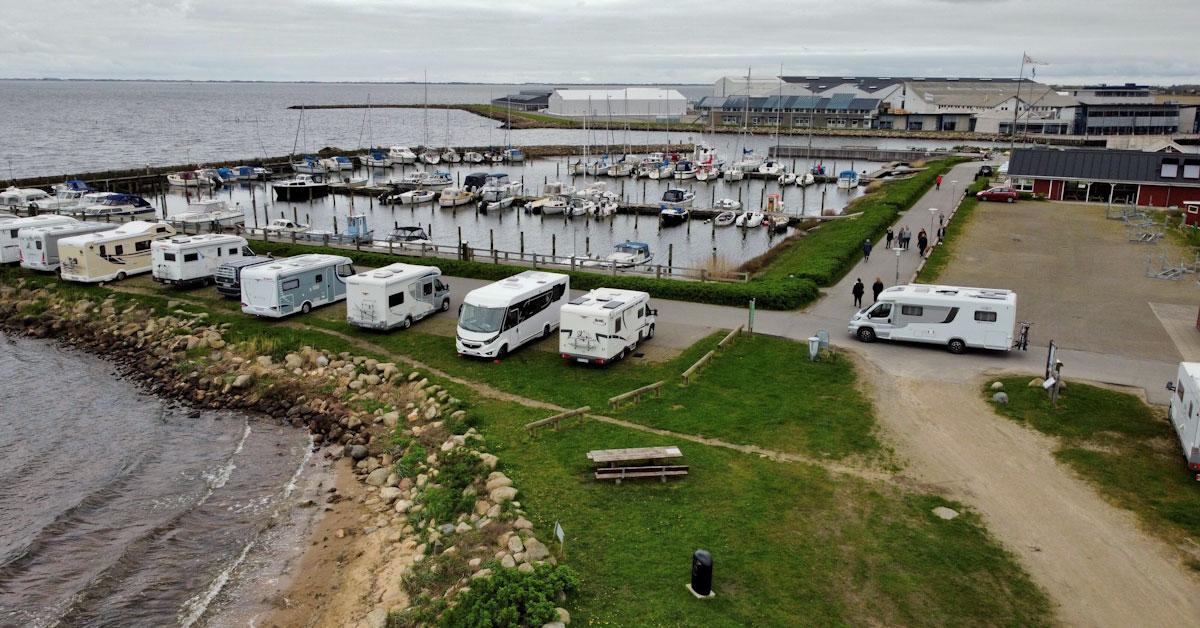ringkøbing havn autocamperplads
